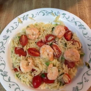 With tomatoes